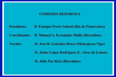 COMISON DEPORTIVA fede 2015